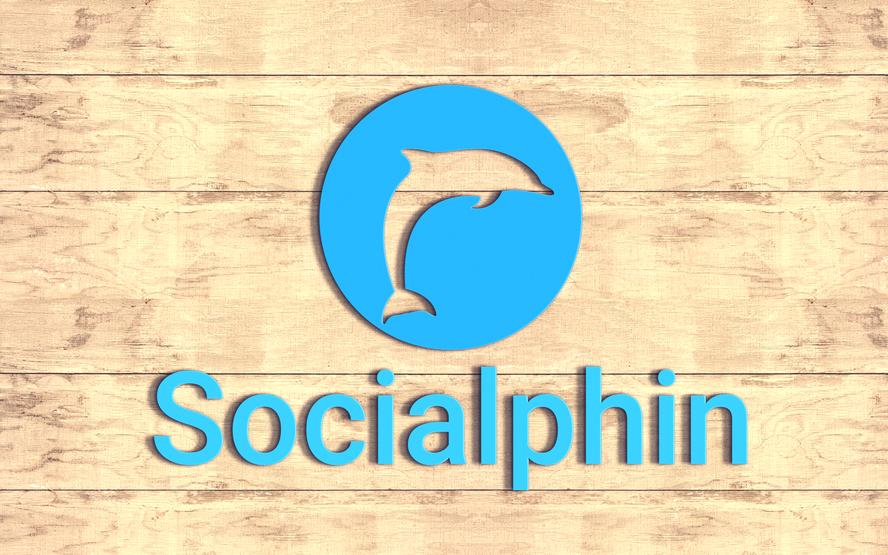 Socialphin Logo 3D